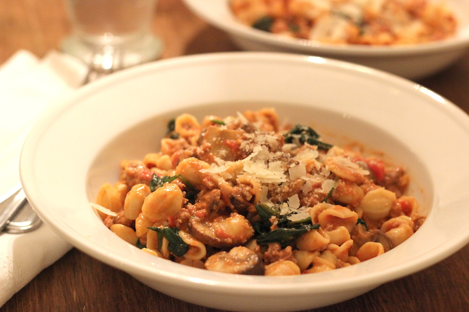 Jenny Steffens Hobick Orecchiette Pasta With Crumbled