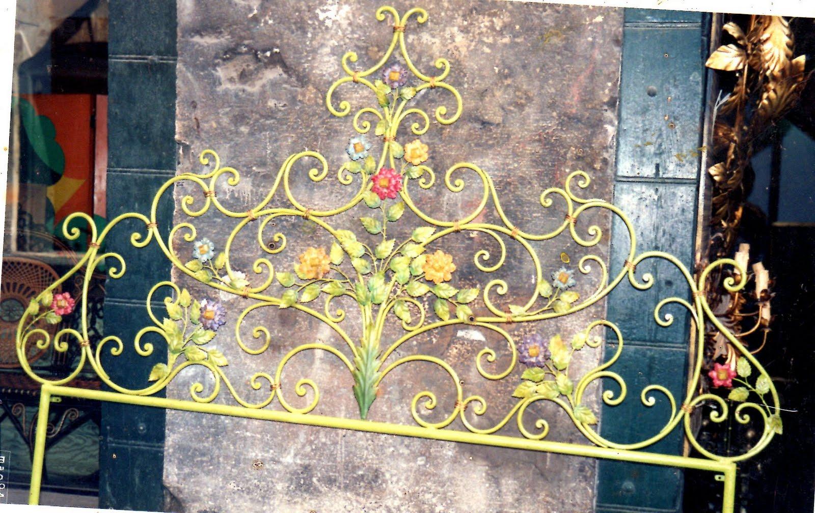 Ditta brogani maurizio lavori in ferro battuto e restauri in ferro ottone ghisa e alpacca for Testiera letto ferro battuto