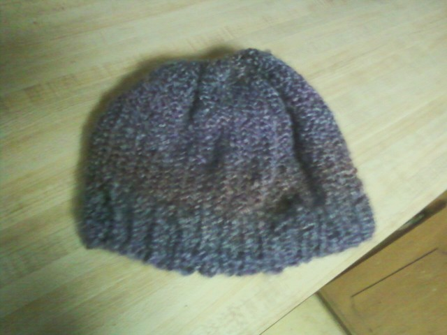 Epic Knitting Fails : Berry hat