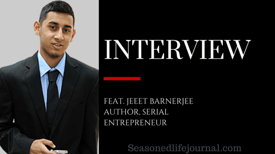 Serial entreprenuer, digital marketing expert, jeet banerjee