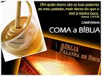 Campanha: COMA a BÍBLIA!