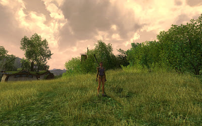 Lord of the Rings Online - атмосферные пейзажи