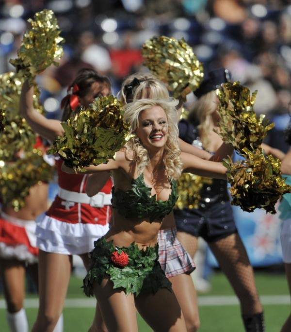 San Diego Chargers Cheerleaders Swimsuit: Pro Cheerleader Heaven: NFL Cheerleaders Know How To Do