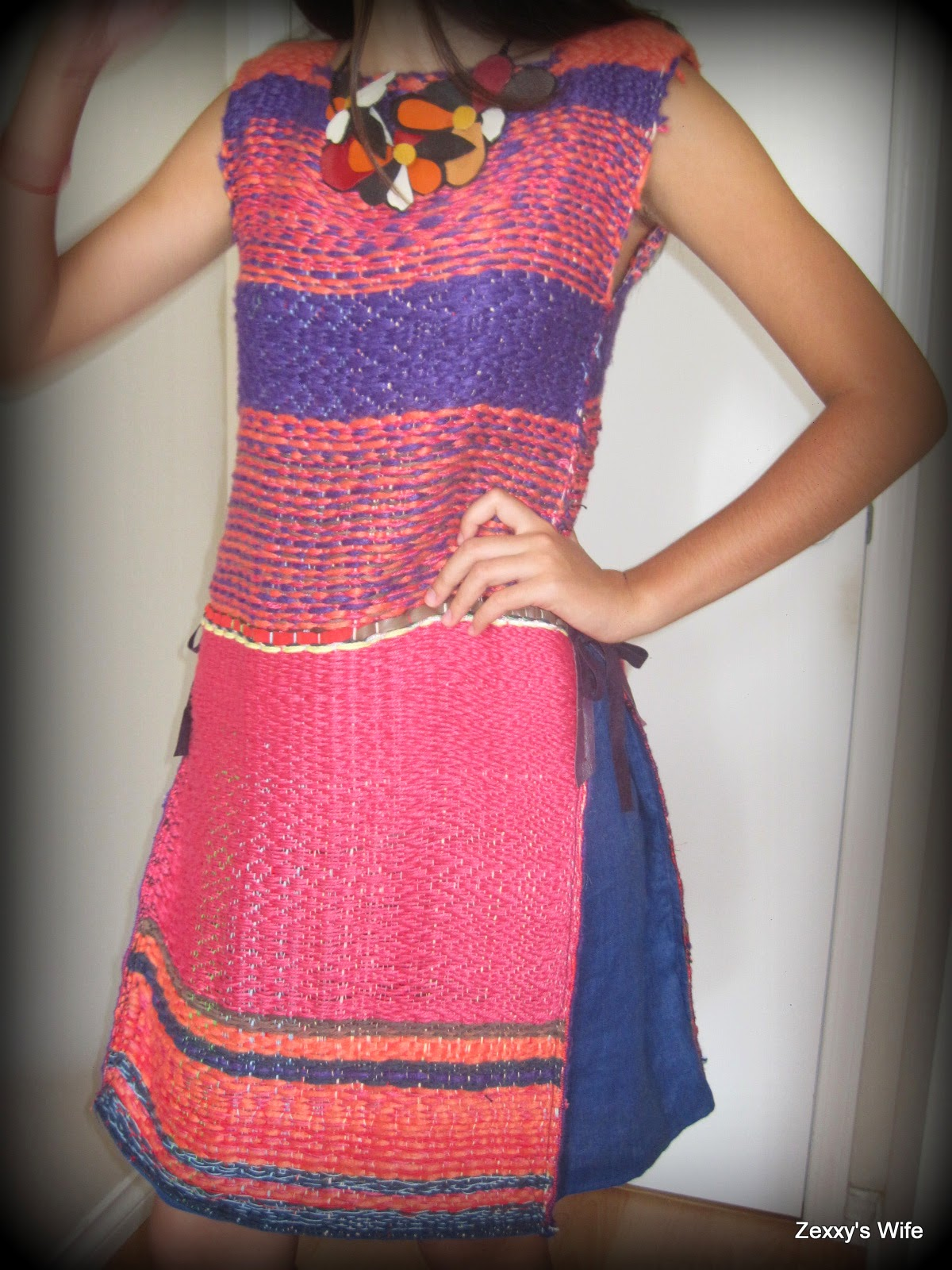 My handwoven dress