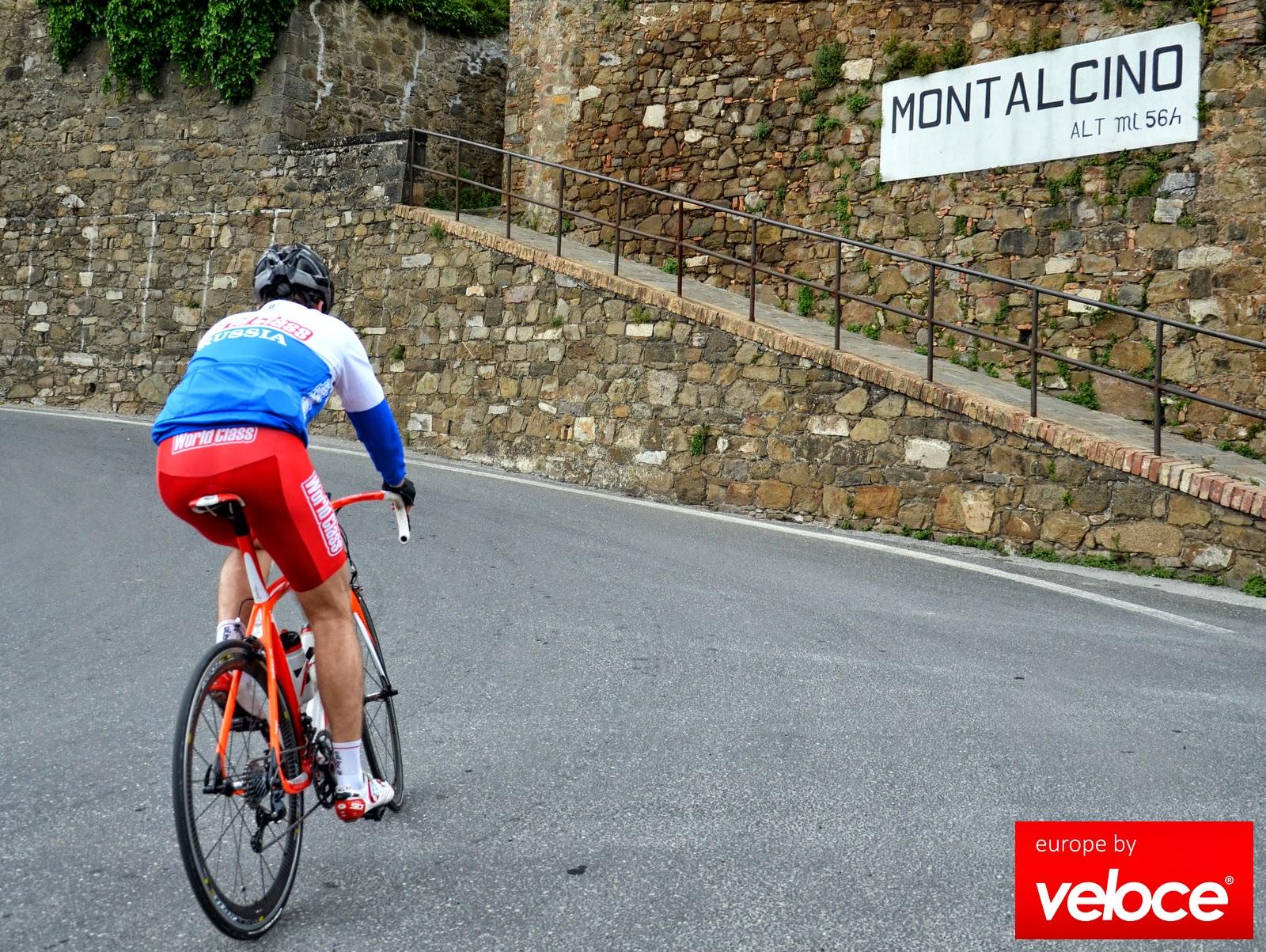 cycling montalcino