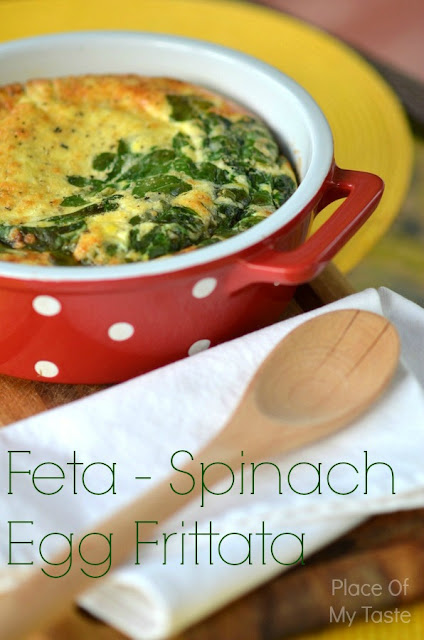 Egg-Spinach Frittata by Place of My Taste