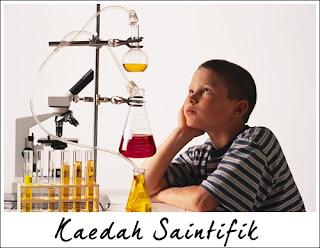 Kaedah saintifik kimia