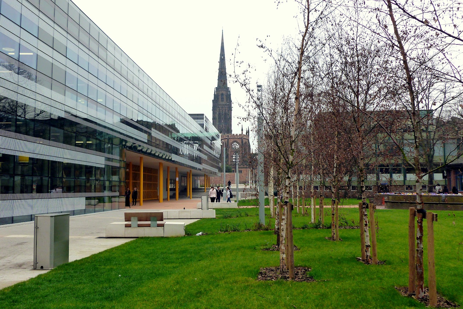 today around coventry  walking past  u0026 39 the hub u0026 39  at coventry university