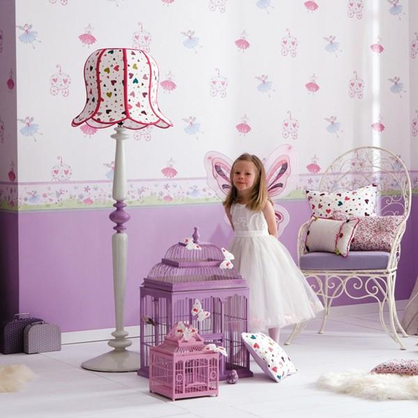 Papel pintado papel pintado infantil lollipops - Papeles infantiles para paredes ...