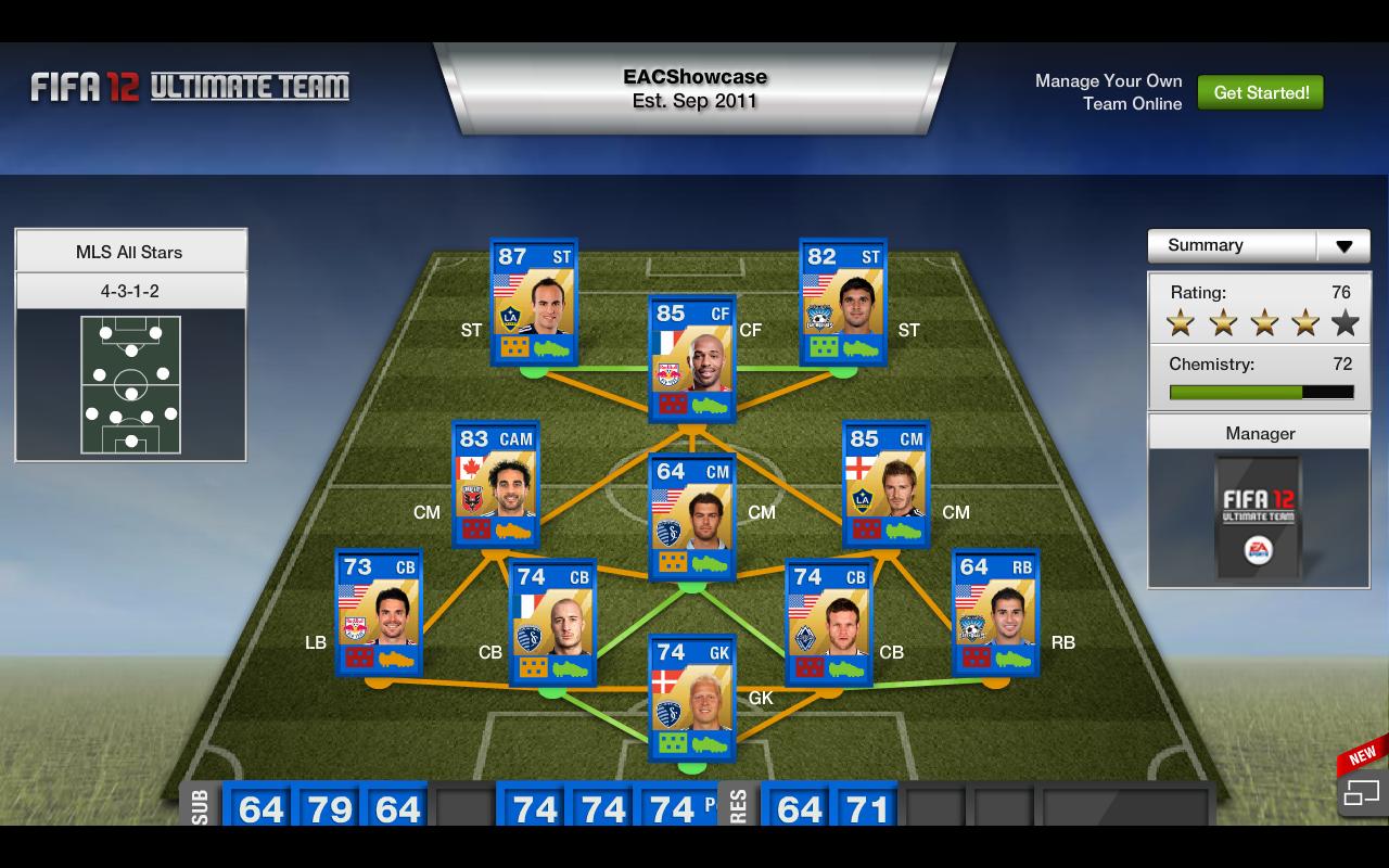 ... Ultimate Team - Team of the Week - FIFA 17 Ultimate Team, FUT Web App