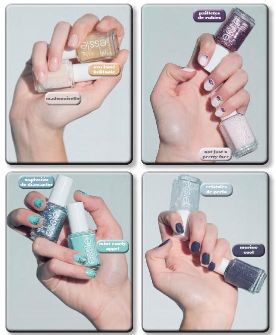 Masquebtl: Lanzamiento: Esmaltes de uñas Luxeffects de Essie