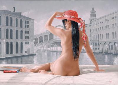 Pintura Los Desnudos Femeninos En El Arte De Aleandre Montoya