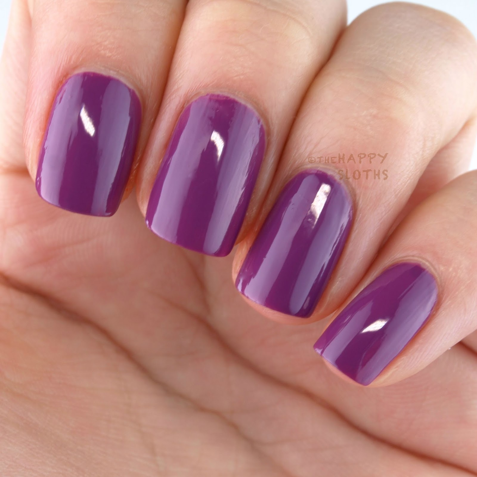 Nicole OPI In Grape Demand Swatches