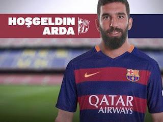 Arda Turan FC Barcelona player.
