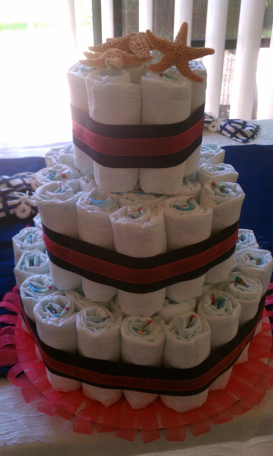 Baby Gift Nappy Cake : Diaper cakes for baby showers instructions hot girls