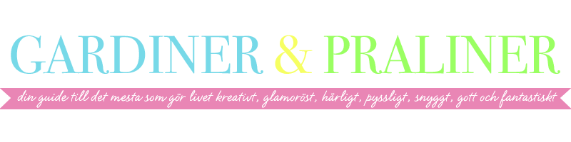 Gardiner ❤ Praliner