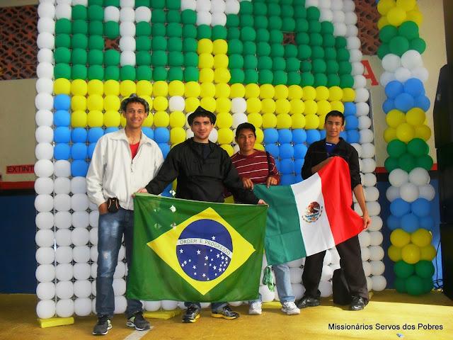 Ir. Genival, Ir. Thalisson, Ir. Felipe e Ir. Gleison