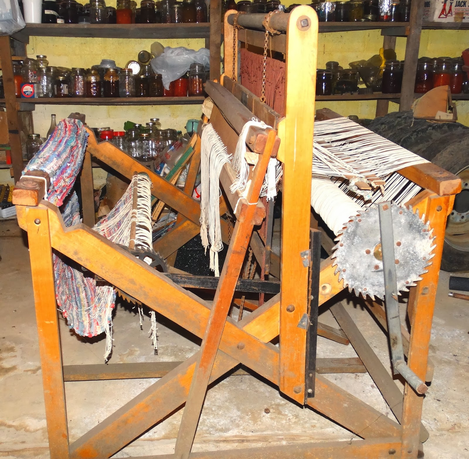 Elaine's Creative Works: Our Families Old Union Loom Works