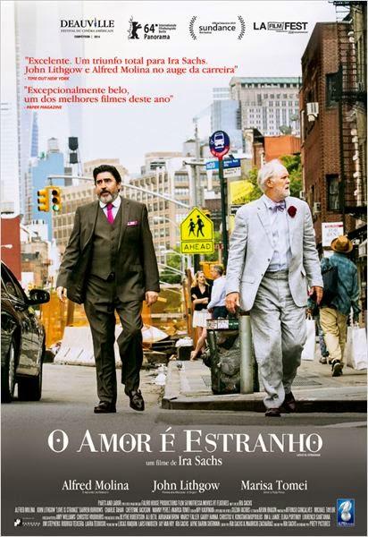 """Poster do filme """"O Amor é Estranho"""""""