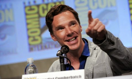 Sherlock mania at Comic-Con
