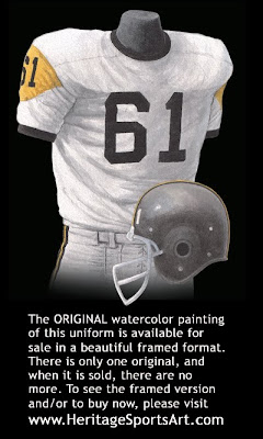 Pittsburgh Steelers 1963 uniform