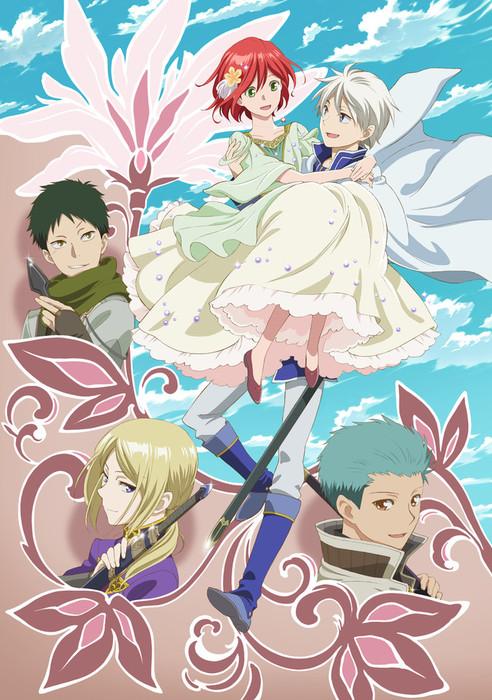 Anime Musim Kedua 'Akagami no Shirayuki-Hime' Ungkap Berbagai Informasi Baru