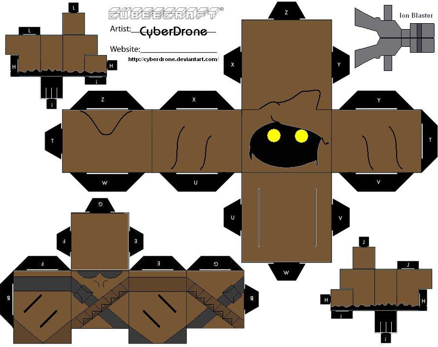Papercraft Jawa - Star Wars