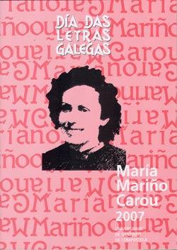 María Mariño, Letras Galegas 2007