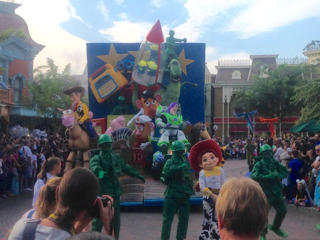 Paris Diary Disneyland Paris Holiday Toy Story