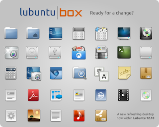 lubuntu icon theme box