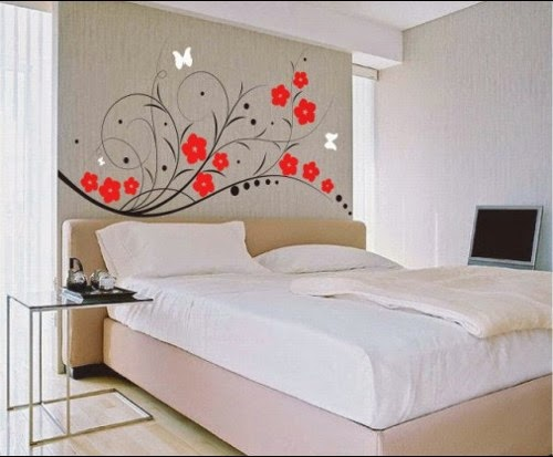 bedroom wall decal stickers decorating ideas