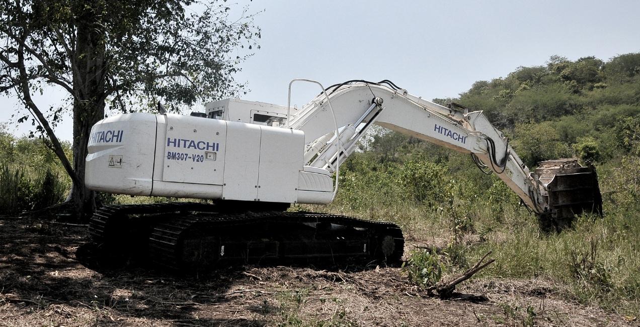 Colombia  barreminas Hitachi BM307-V20