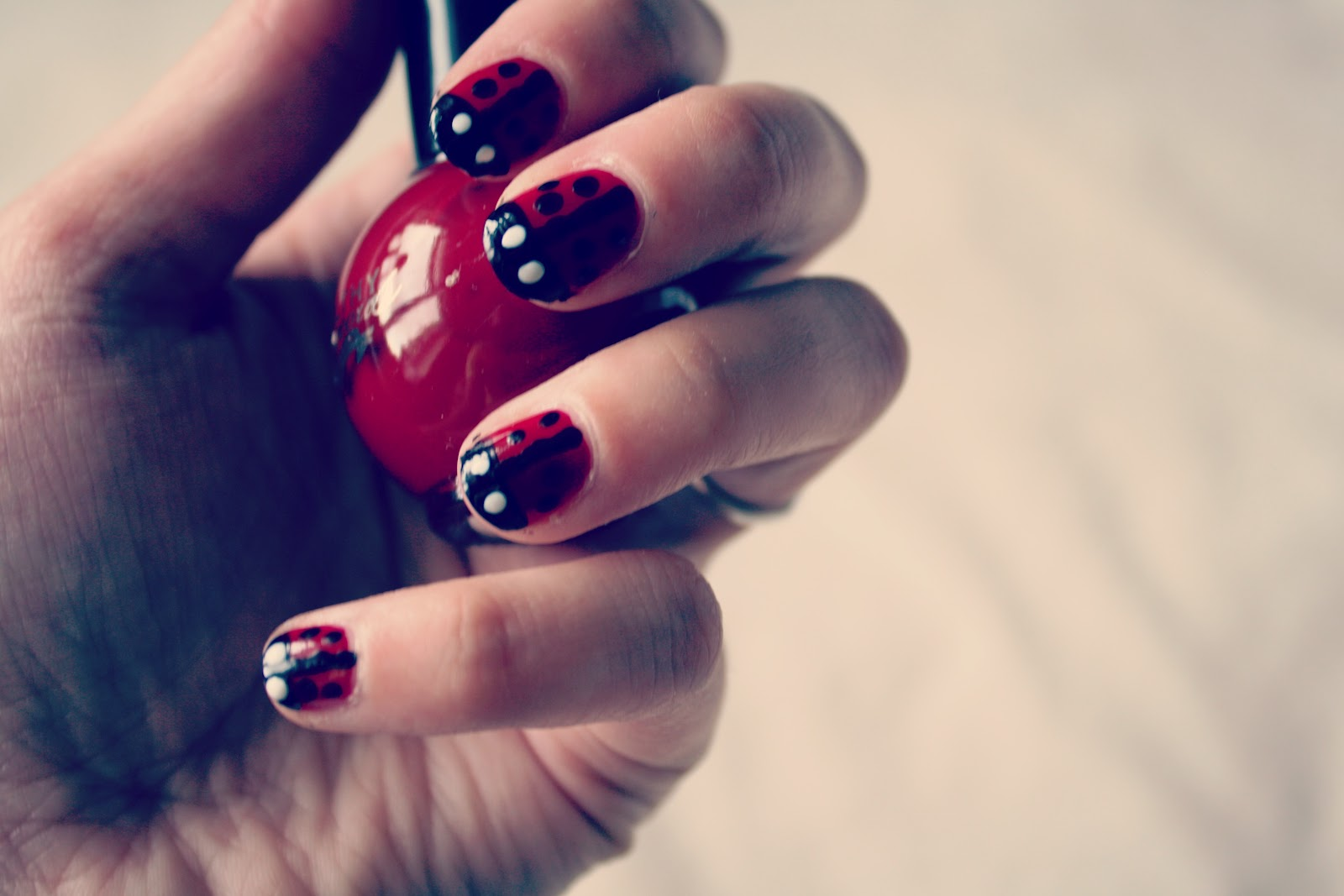 Leanne Marie How To Ladybird Nail Art Tutorial