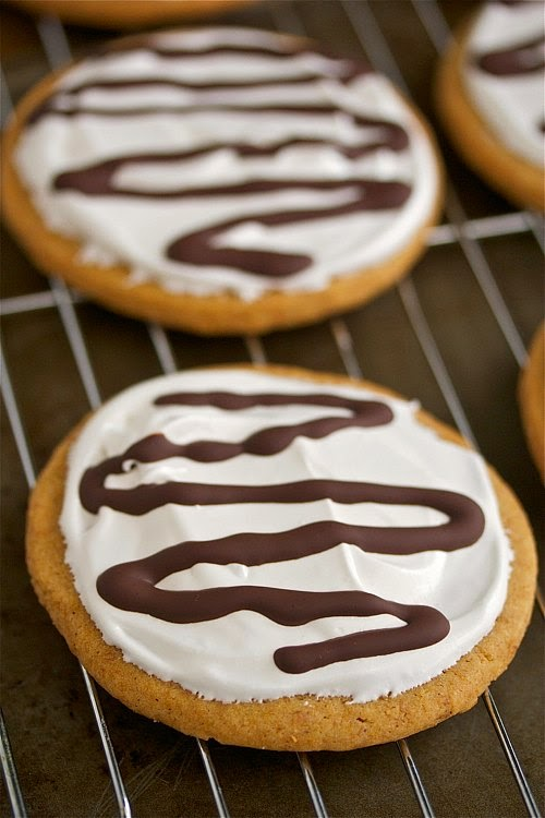 Homemade moonpie cookies