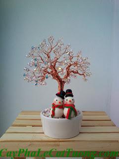 Cây pha lê Noel - Mã 7.I