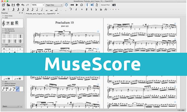 MuseScore para Linux
