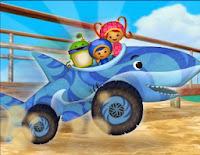لعبة سباق  القرش اومي زومي