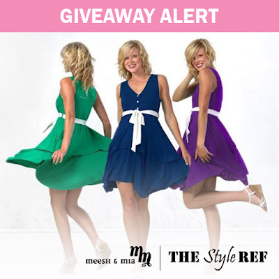 Giveaway Alert from The Style Ref and Meesh and Mia