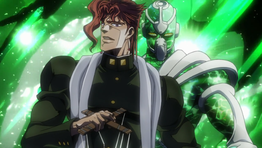 Recenzja anime JoJo's Bizarre Adventure: Stardust Crusaders (2014). Studio David Production.