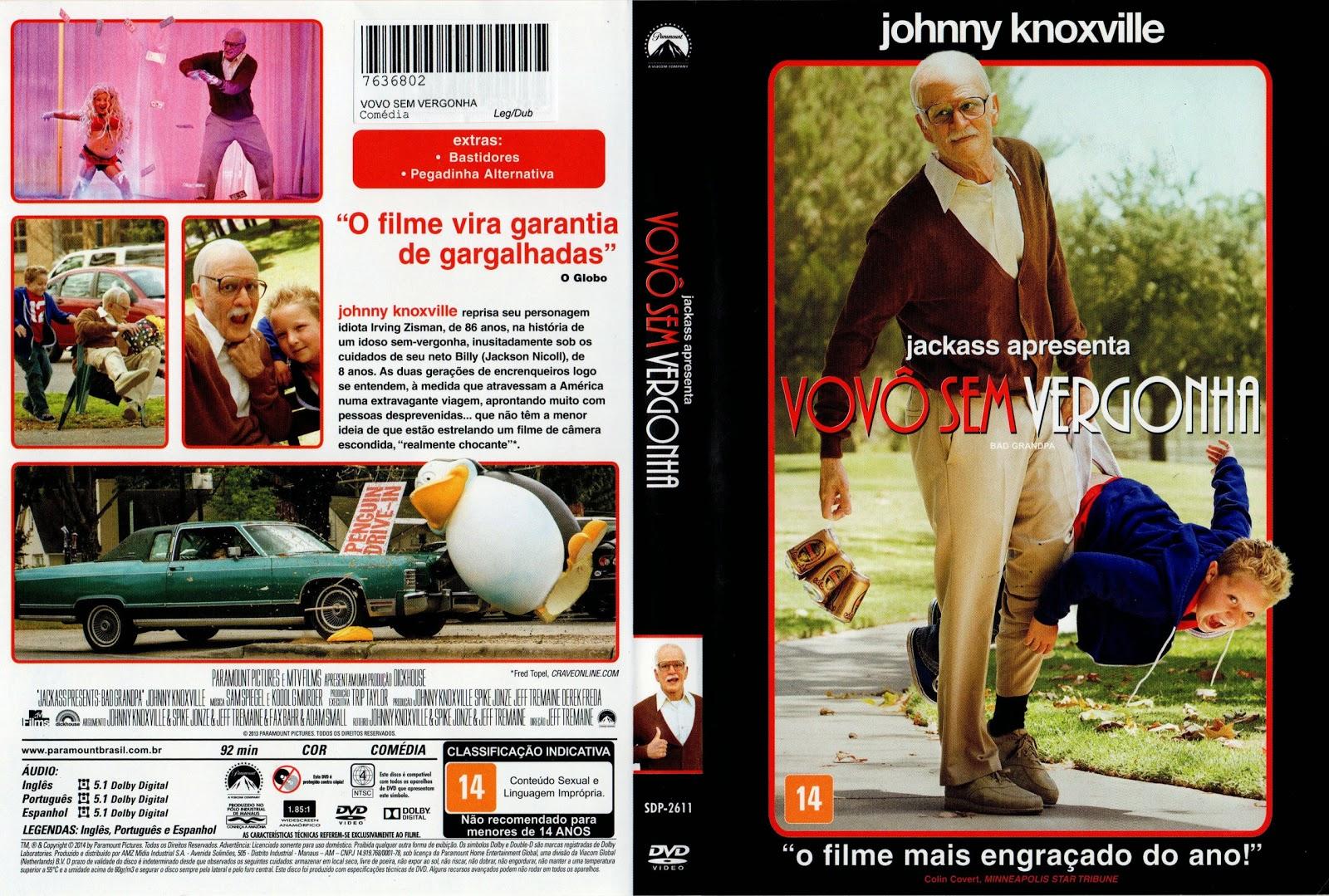 Capa DVD Vovô Sem Vergonha