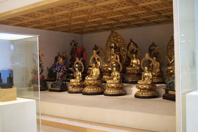 statues musée guimet