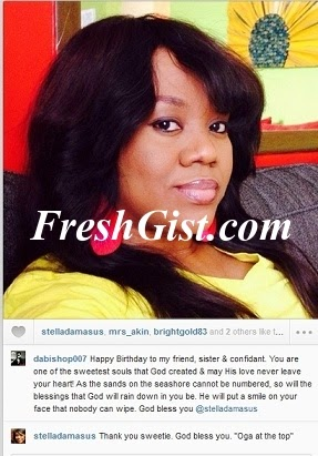 Stella Damasus Celabrates Her Birthday Today: Stella Turns 36years Today
