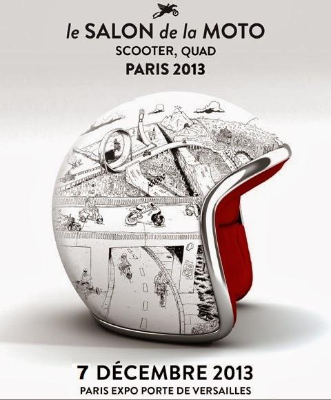 Les fr l s salon de la moto paris 2013 paris expo for Les salons porte de versailles