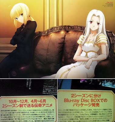Fate Zero Anime dos segunda temporadas