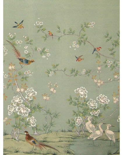 Wallpaper For Dining Room Feature Wall