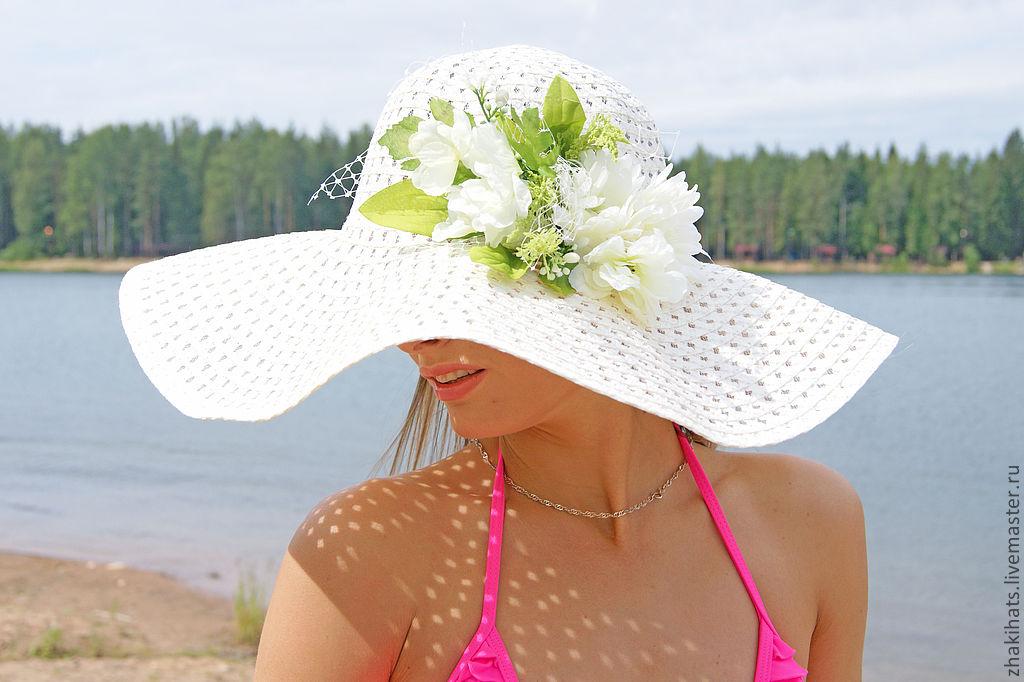 Мастер-класс: красивая пляжная шляпа своими руками