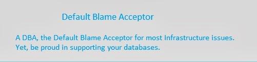 Default Blame Acceptor