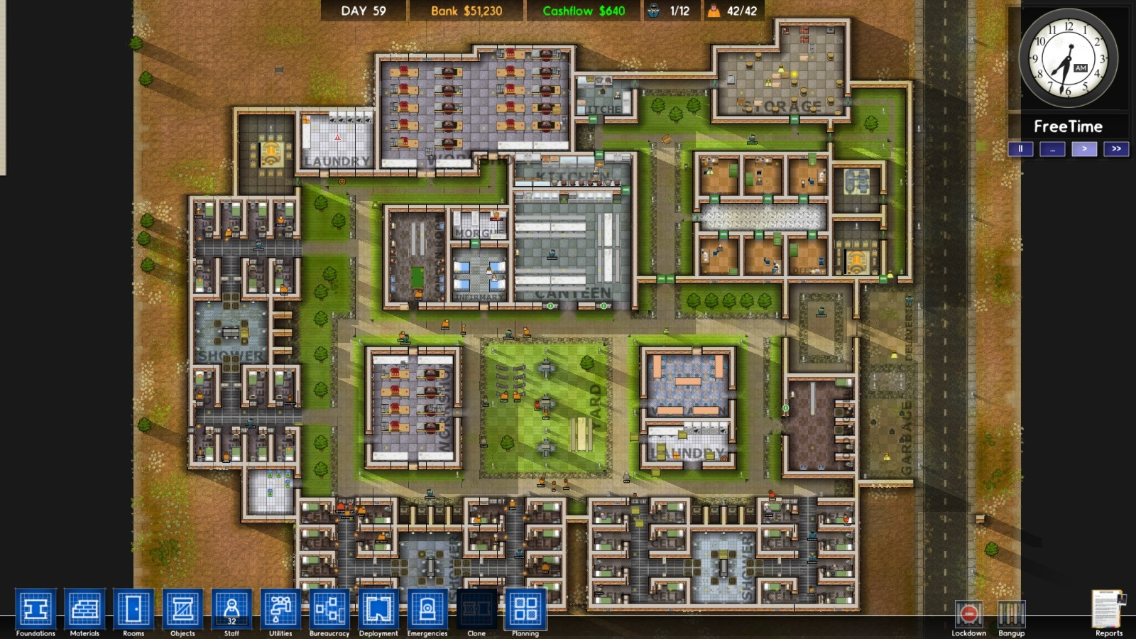 Build Your Own Prison Game Free