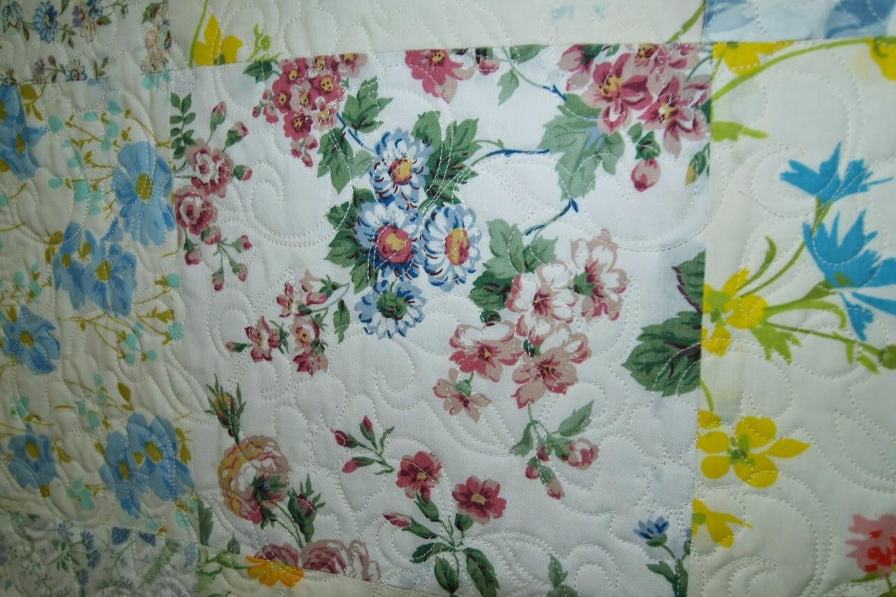 Briar Parmer Vintage Sheet Quilt