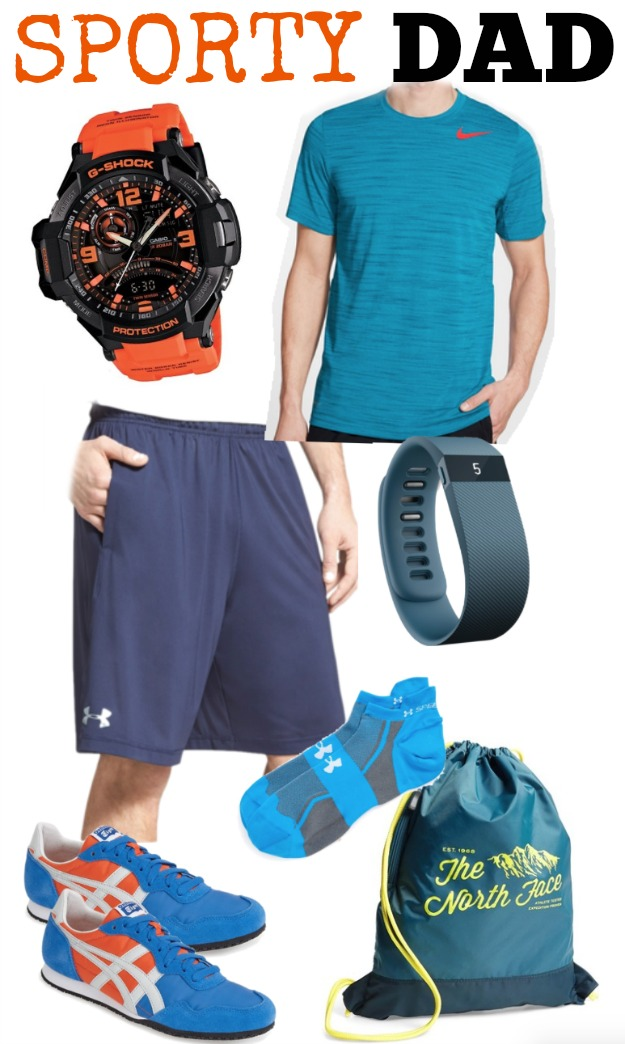 Father's Day Gift Guide - Sporty Dad